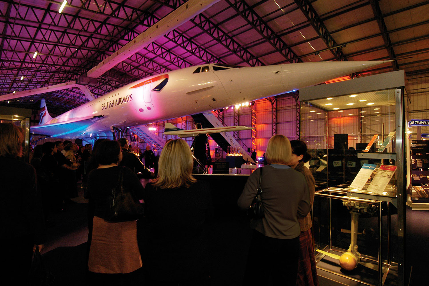 Venue hire at National Museum of Flight