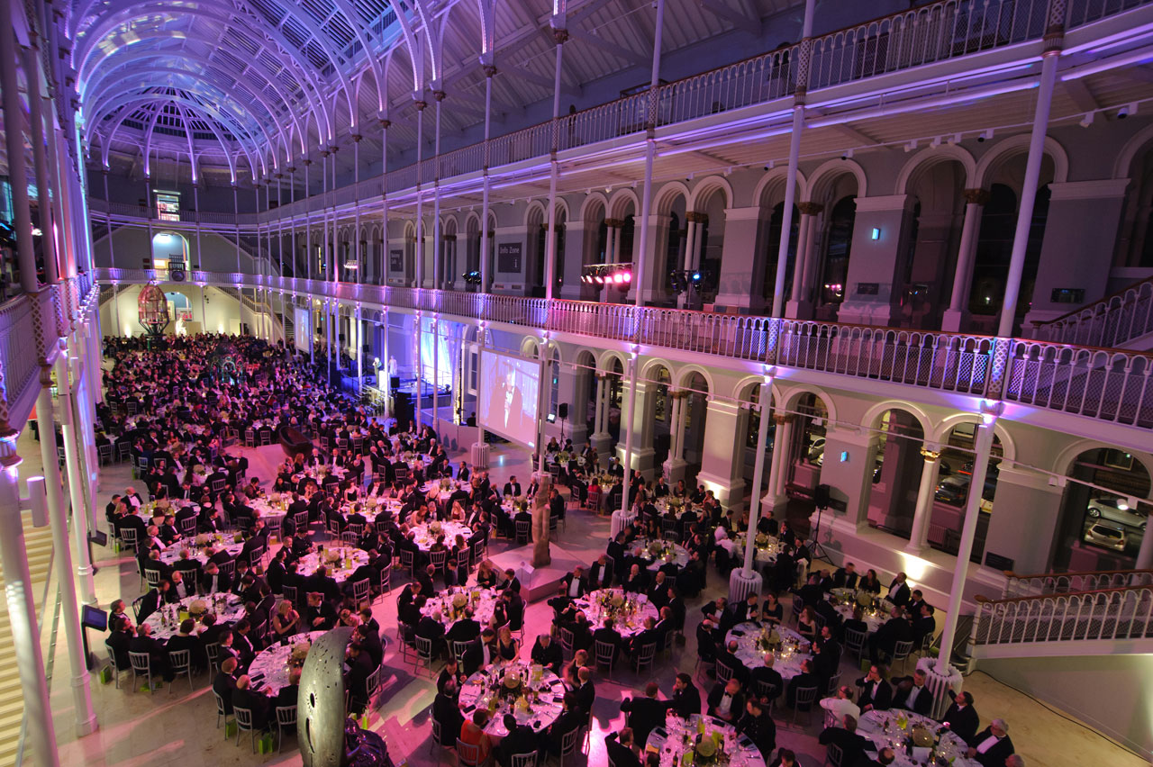 Green Energy Awards in the Grand Gallery at the National Museum of Scotland