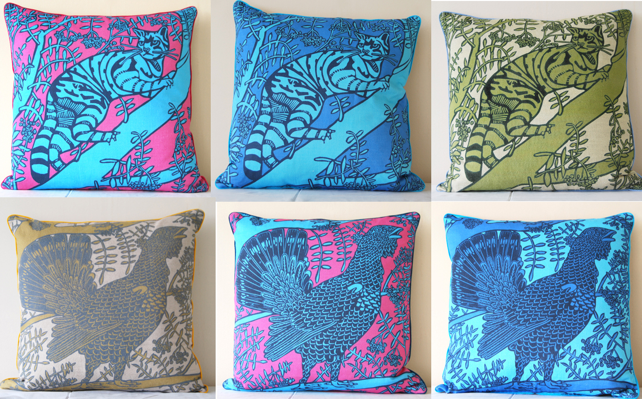 Little Axe Cushions