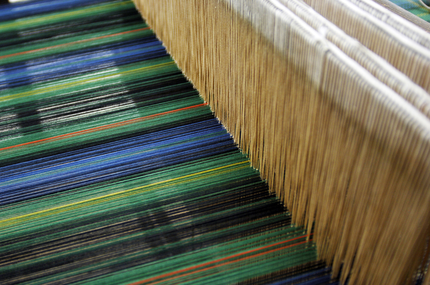 Scotland Transformed weaving loom
