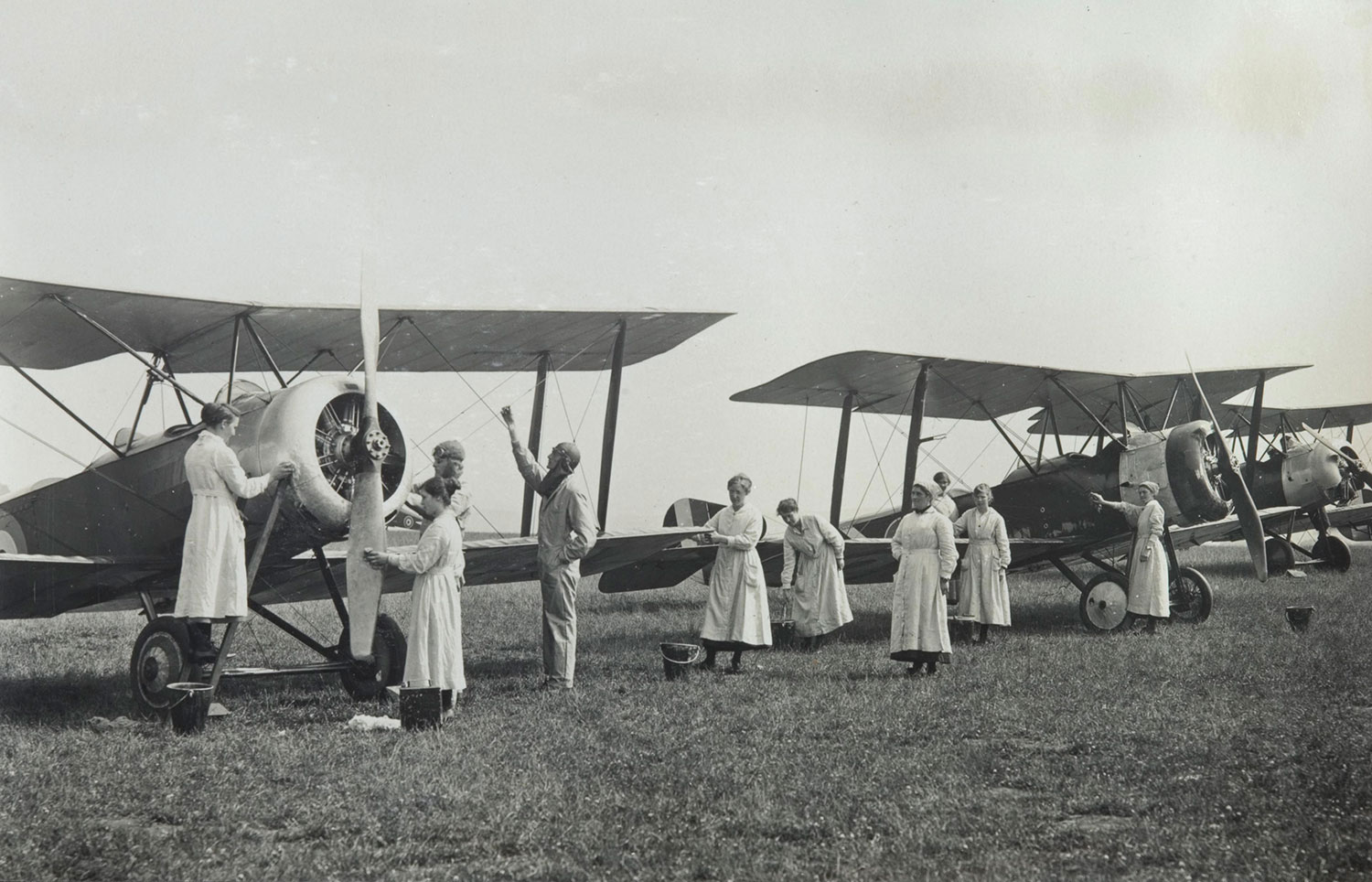 Women fitters at East Fortune airfield