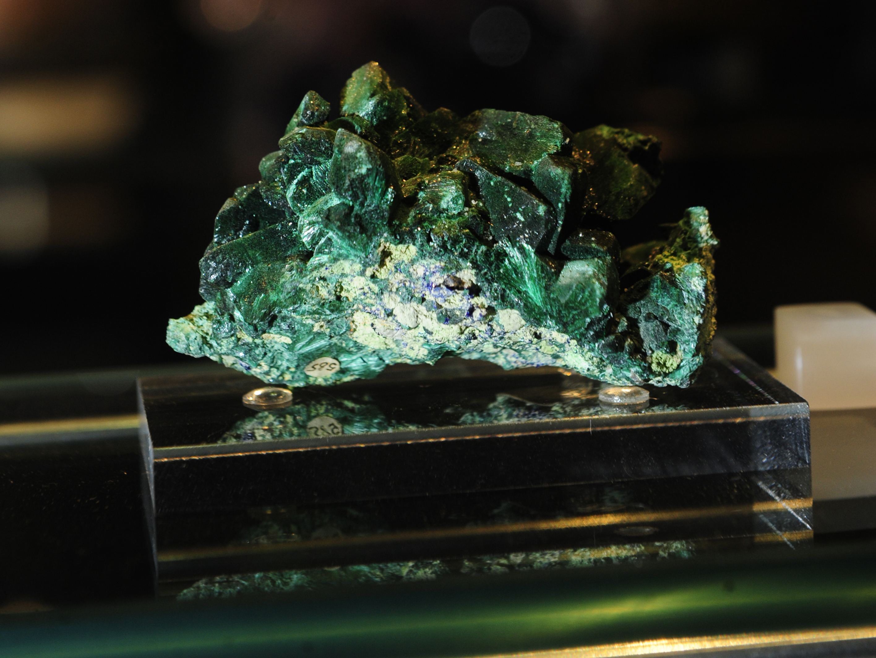 Earth in Space rock
