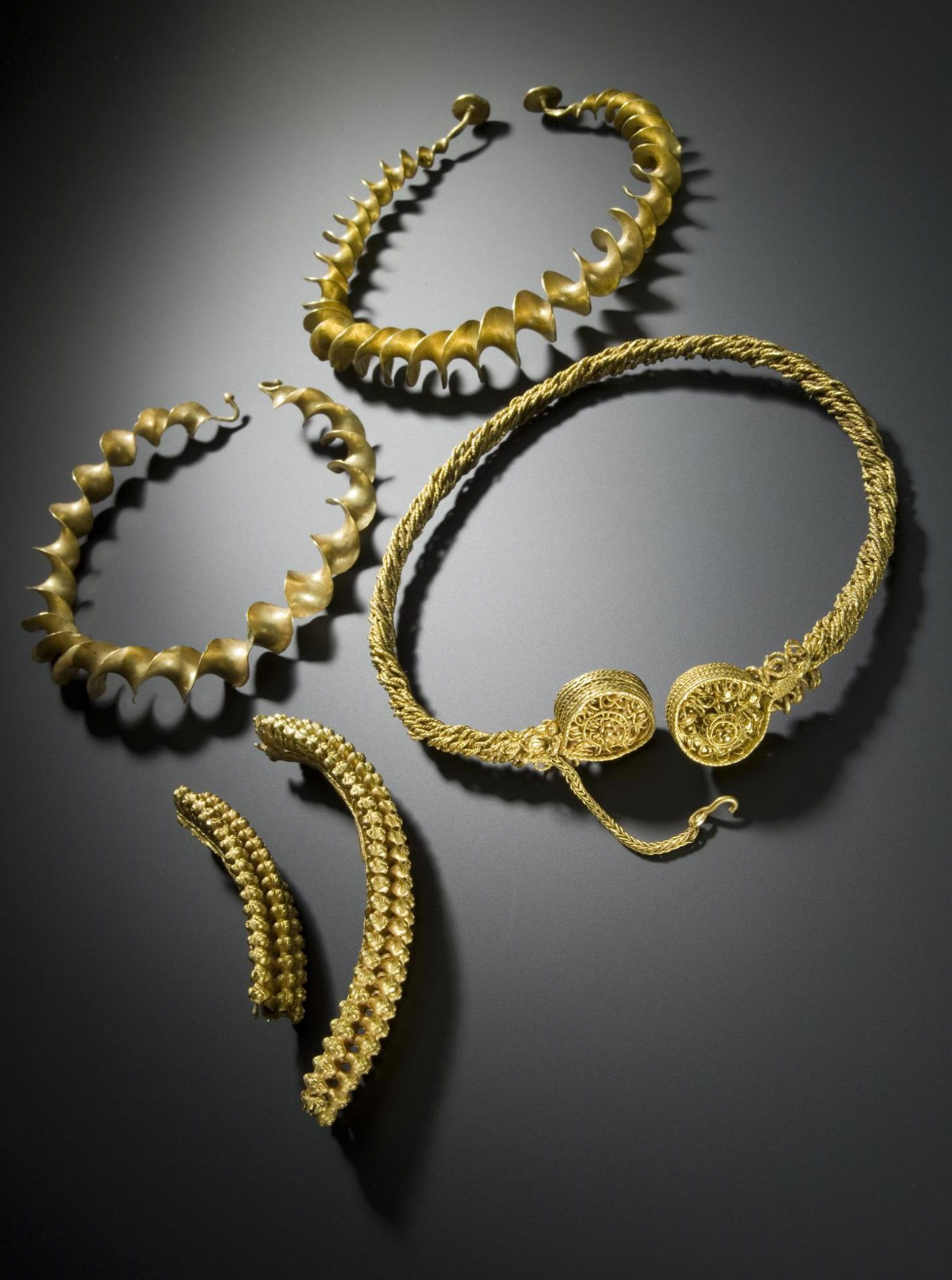 Iron Age Torcs Together