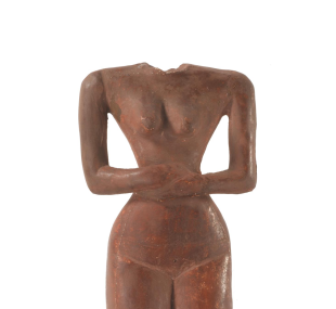 Statuette / woman / reproduction