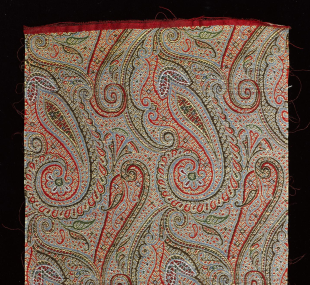 Sample, Paisley pattern