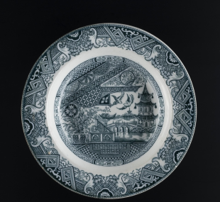 Plate, soup