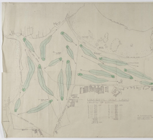 Document / plan, golf course