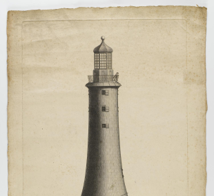 Lighthouse, Eddystone, third / drawing, elevation