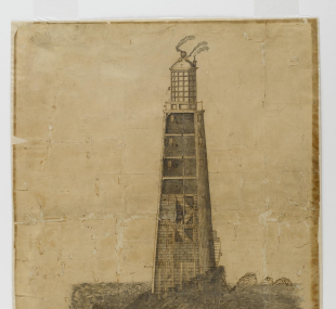 Lighthouse, Eddystone, second / drawing