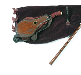 Bellows bagpipe