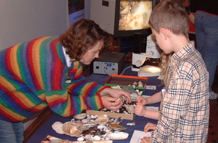 Curators share their expertise with young visitors