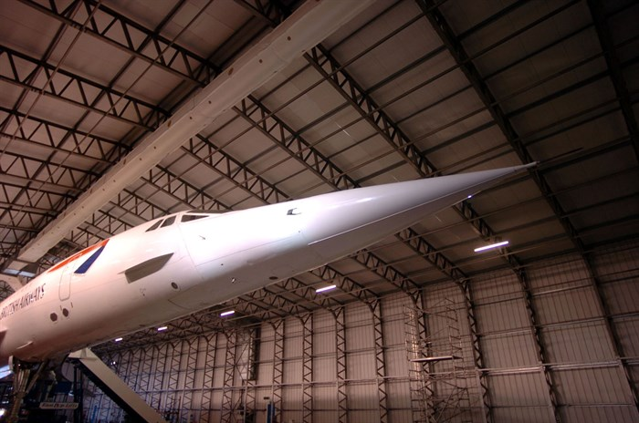 Concorde at National Museum of Flight