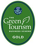 The Green Tourism Business Scheme gold