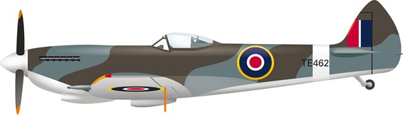 Spitfire illustration
