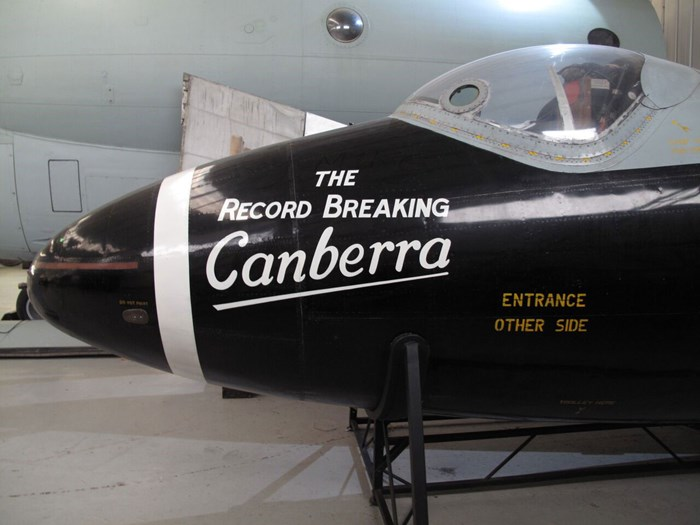 Canberra nose section