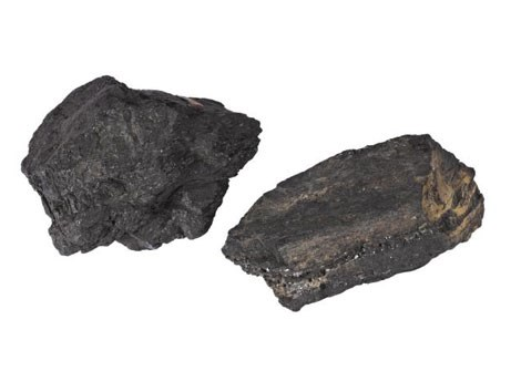 Sample of coal which Livingstone sent back to his friend Dr George Wilson.