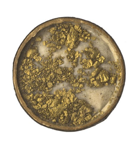 Gold collected by David Livingstone