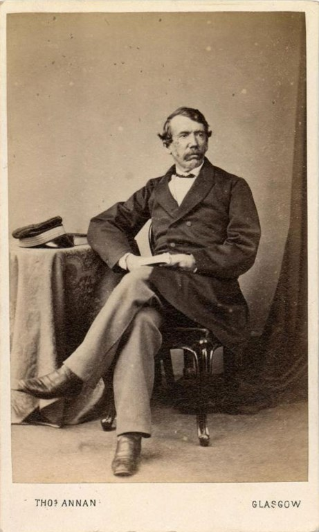 Carte-de-visite of David Livingstone