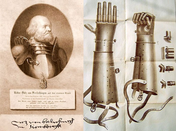Gotz von Berlichingen and his iron hand