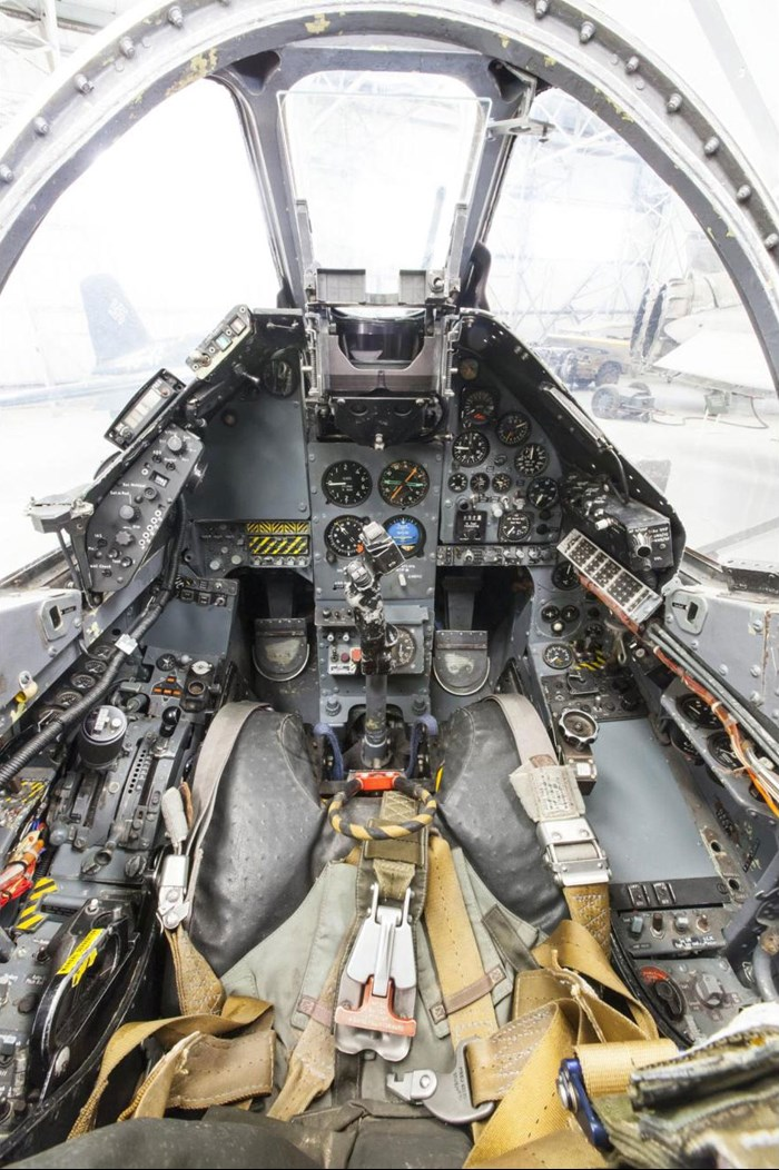 Hawker Siddeley Harrier cockpit