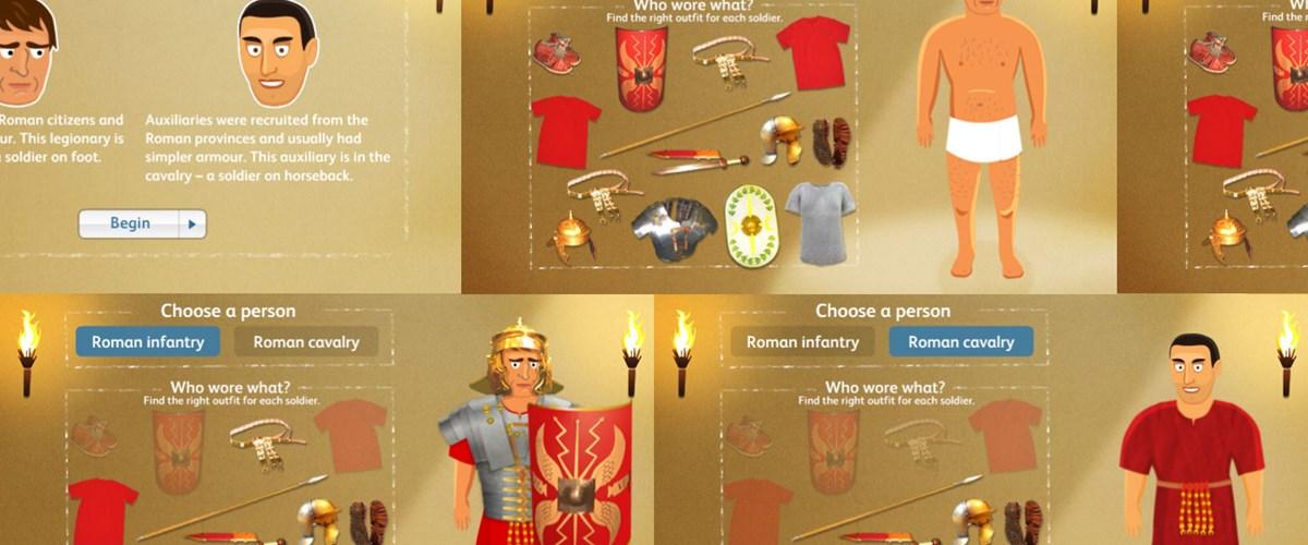 It's just a picture of Insane Roman Soldier Uniform Labelled