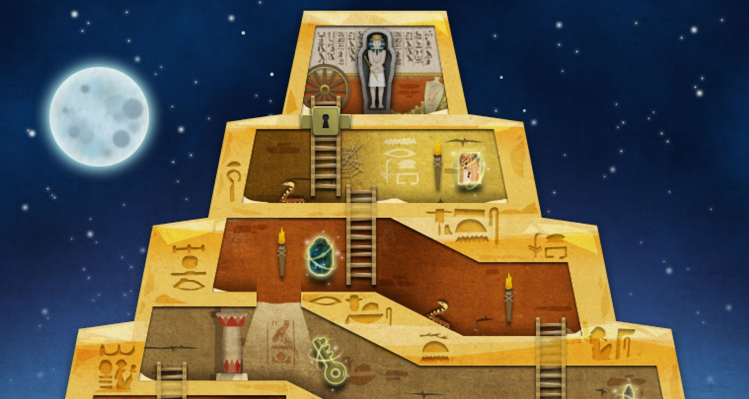 egyptian pyramid game
