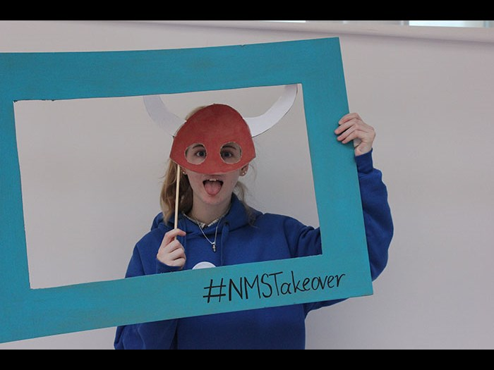 Run activities like our museum photo booth for Takeover Day 2015.
