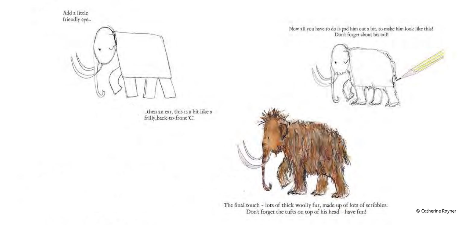 how to draw a mammoth youtube