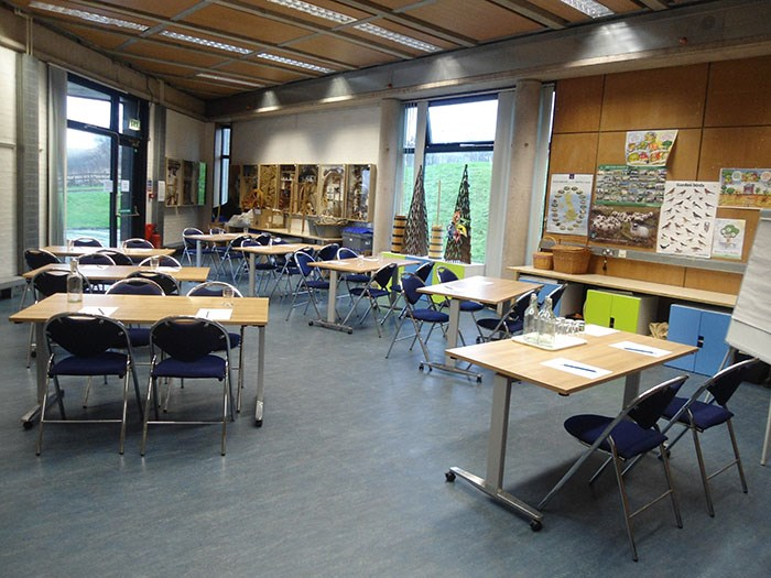 Classroom set up in the Learning Centre