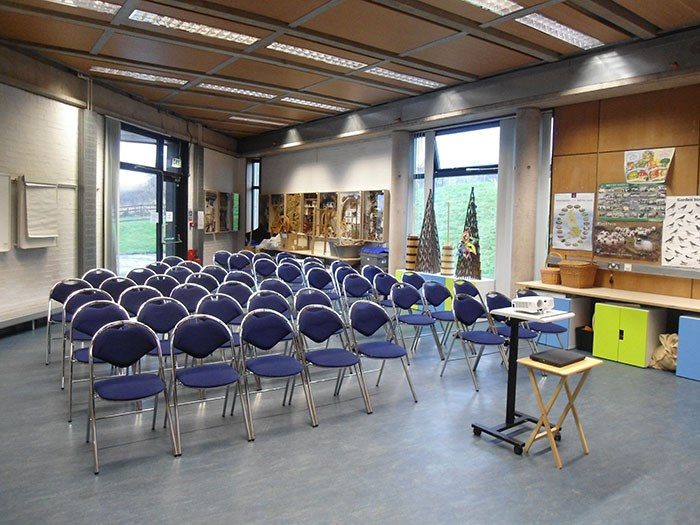 Theatre-style set up in the Learning Centre