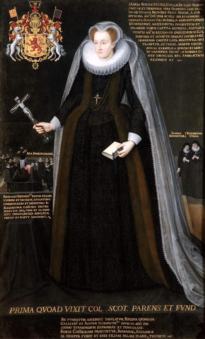 The Blairs Memorial Portrait of Mary, Queen of Scots. © Blairs Museum Trust.