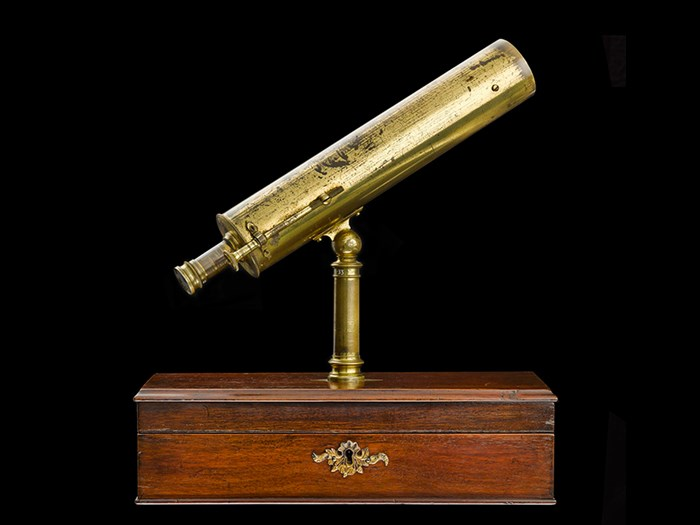 Reflecting telescope made by James Short of London, c. 1765.