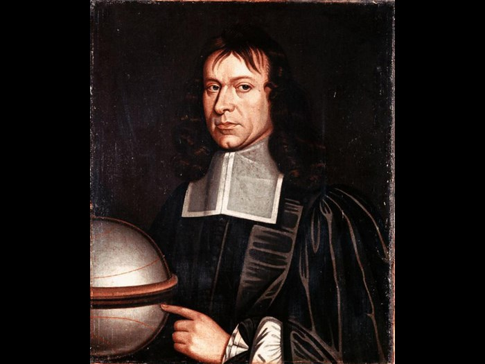 Portrait of James Gregory, mathematician and inventor of the reflecting telescope, attributed to Richard Waitt (1708-32).