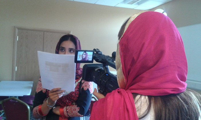 Filming for the Panjab Connections project