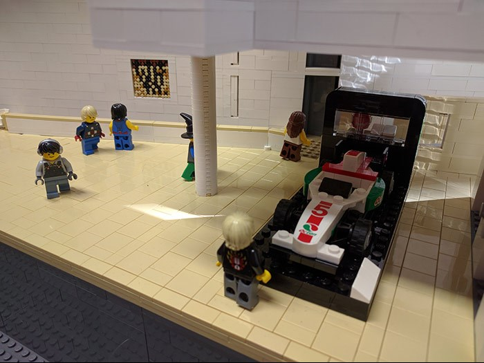 A LEGO® view of Hawthornden Court