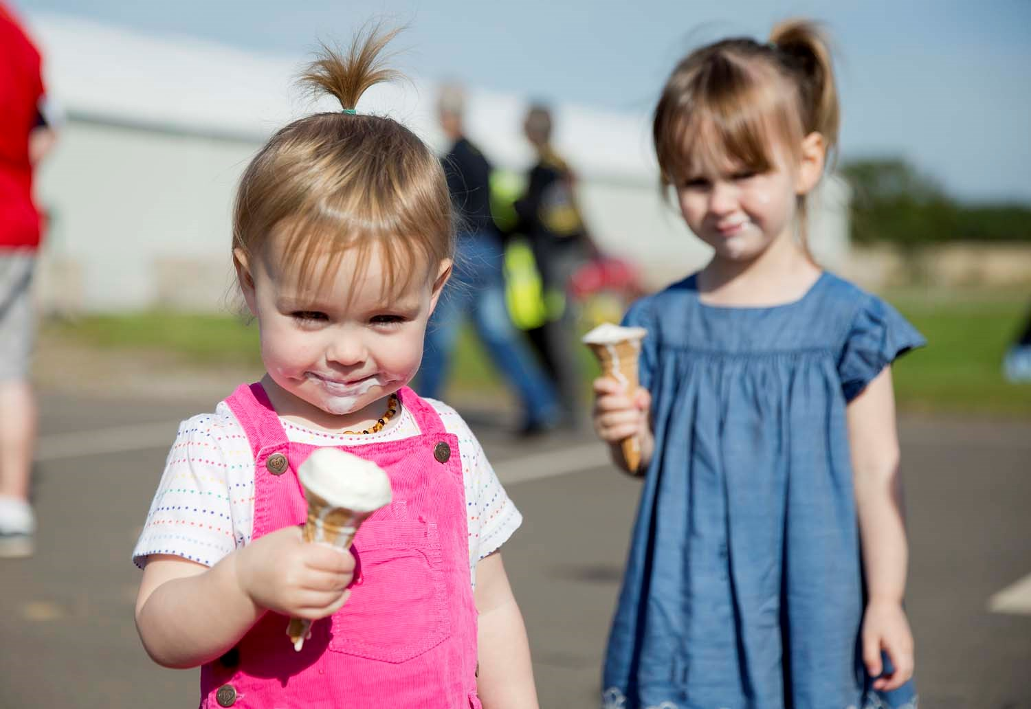 Enjoying ice creams for © Ruth Armstrong Photography.