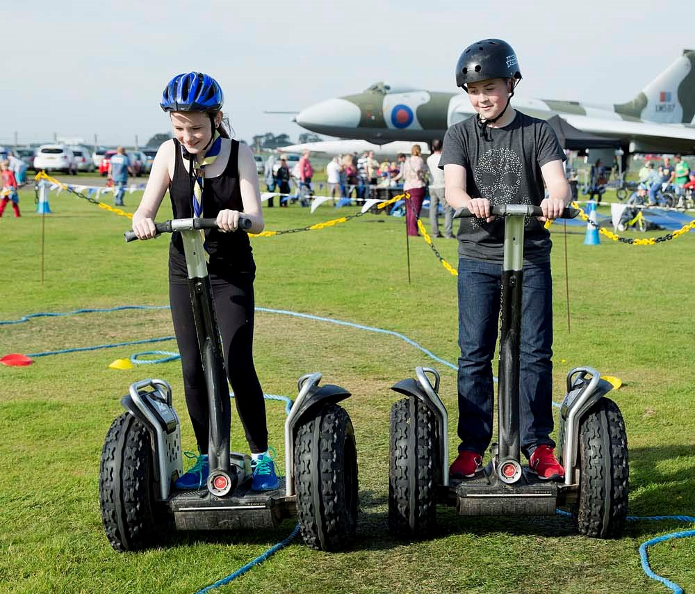 Trying the off-road Segway track © Ruth Armstrong Photography.