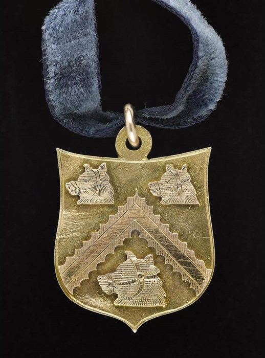 Gold medal presented for gallantry to Private Edward Friel