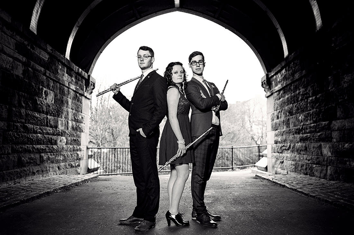 Wed 10 August: Champagne Flutes - classical flute trio