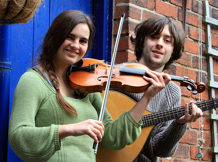 Sat 27 August: Morag Brown and Lewis Powell - traditional instrumental duo