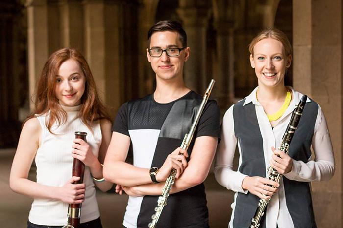 Wed 17 August: Sirocco Winds - classical wind trio