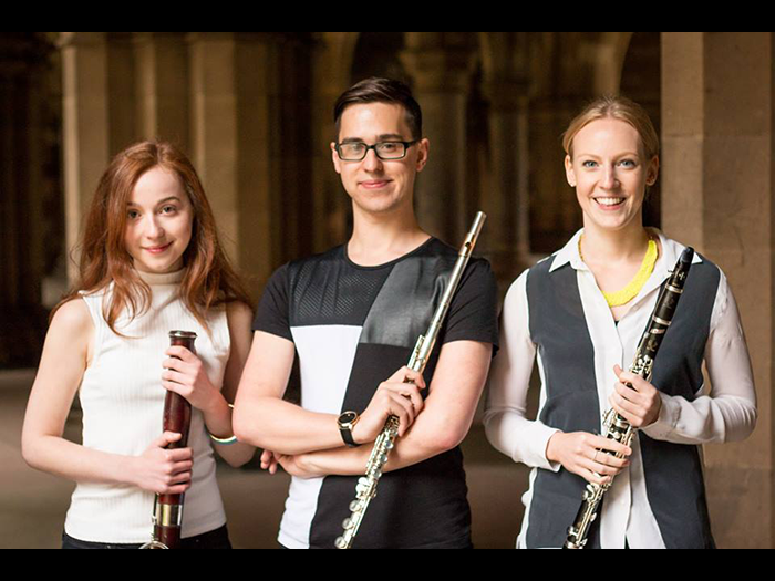 Tue 14 August: Sirocco Winds - classical wind trio