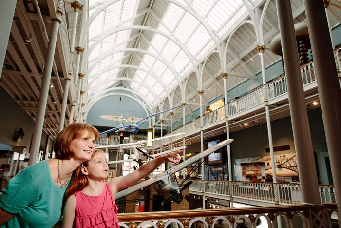 New Science and Technology galleries