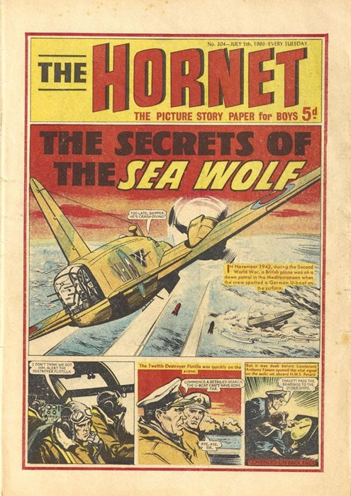 Front page of The Hornet, July 1969