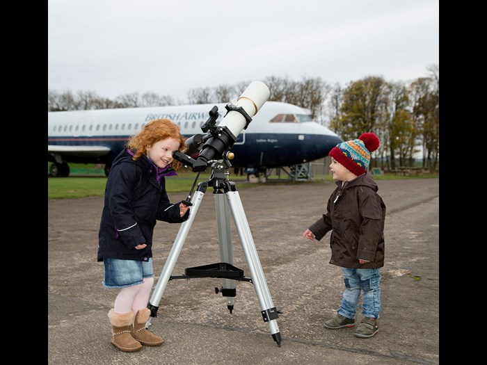 Getting to grips with powerful telescopes  © Ruth Armstrong Photography.