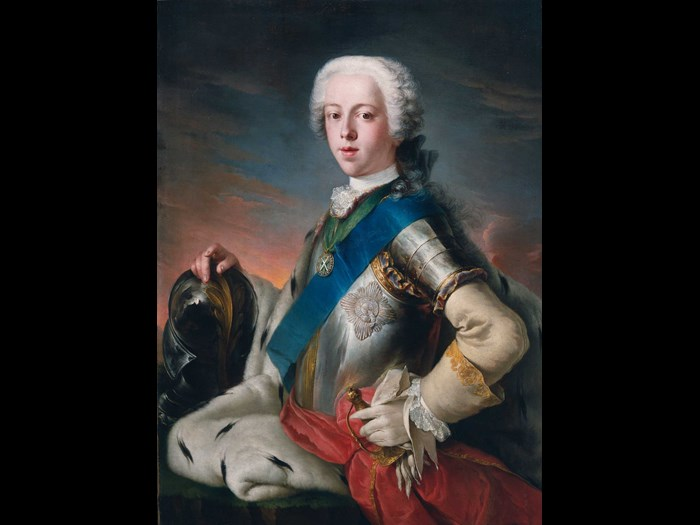 Louis Gabriel Blanchet, Prince Charles Edward Stuart, 1739. Image: Royal Collection Trust/© Her Majesty Queen Elizabeth II 2017.
