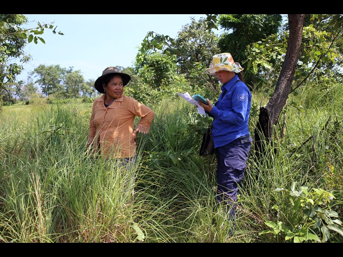 Surveying for landmines in Cambodia  © The HALO Trust