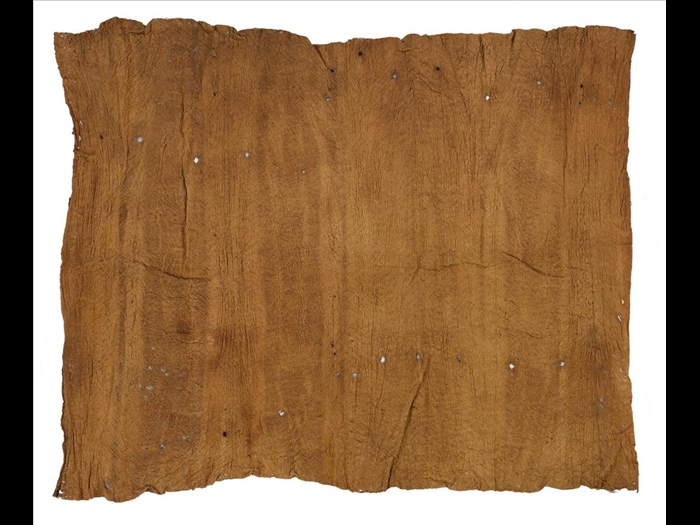 Length of barkcloth: Africa, Southern Africa, Malawi, mid-19th century.