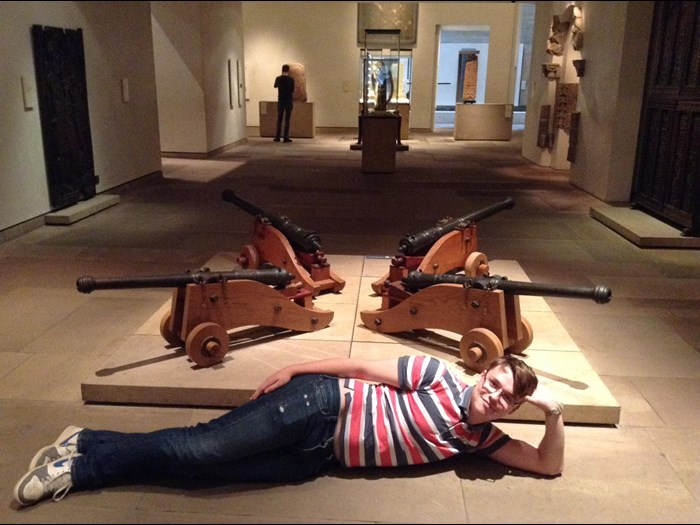 James, upon joining the museums Young Demonstrators, realised that it was one of the greatest decisions ever. Like a Roman conquering Greece or Nelson's ships in water he has enjoyed every minute of it and will enjoy all the seconds to come.