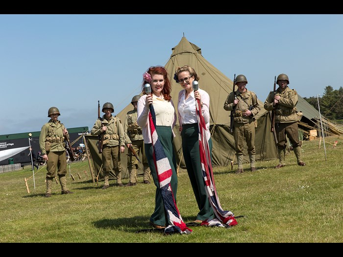 Hear your favourite wartime songs with the Blitz Sisters © Ruth Armstrong Photography.